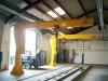 Good quality small jib crane, slewing jib crane,crane fly jib