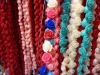 Multicolor Stone flower shape Beads jewelry Accessory