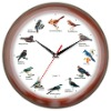 Singing bird Talking time Clock