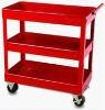 3 Tray Metal Mobile Hand Trolley