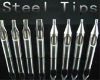 tattoo tip set - 8 Pcs Stainless Steel Tattoo Tips 8 Kinds Supply