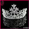 Wholesale High Quality Bridal Weding Side Headpiece Flower Heart Crystal Tiara