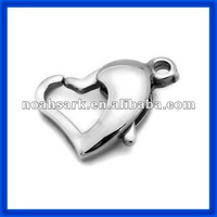 Heart Clasp Jewelry Finding TPSF109#