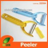 potato peeler with serrated and julienne blade
