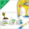 DIY Painting Egg Toy Sets,Seed Planter,Novelty items