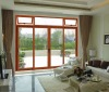 powder coated aluminum sliding door