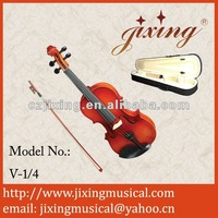 1/4 professional laminated spruce violin for student