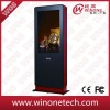 Outdoors Floor Standing interactive touch digital kiosk