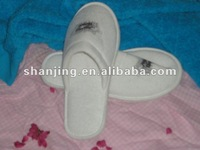 Knitted fabric hotel slipper