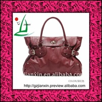 2011 newest style hot sell PU leather high quality ladies handbags