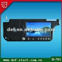 7 inch superior car sun visor dvd player