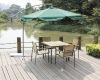 Outdoor garden wood furniture