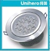 Unihero 20W integrated lens super brightness 1300lm LED recessed/ down light 20W CRI 80