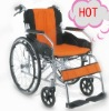 Aluminum Manual Wheelchair,with comfortable soft seat