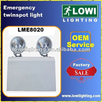 twinspot rechargeable emergency light (LME8020)