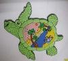 3D soft PVC turtle fridge magnet