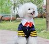 Pet clothes England style dress Dog Clothes Dress( S,M,L ,XL,XXL/lot)