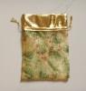 Royal Golden Daisy Printing Tech Organza Bag