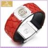 Wholesale fashion BTB leather bangle buddha