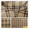check pattern taffeta lining fabric for clothing
