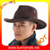 Wool felt Wide Brim cowboy hats