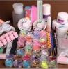 36 Acrylic Powder Primer UV Liquid Nail Art UV GEL Set