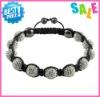 shamballa bracelet wholesale 2012 fashionable woman's bracelets factory price