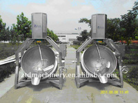 automatic jacketed cooking kettle