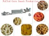 Extruded Puffed Corn Snack food Production Line/ The Non-fried Snack Food Production Line/Plant/Making Machine