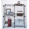 4 storage cubes wire mesh