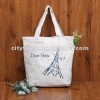 Original design ladies Canvas Shoulder Bag handbag contracted creative printed keepsake items