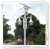 2012 new design 3m 10W double lamps solar owl garden light
