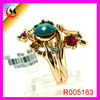 CHARM DESIGN MULTI COLOR STONE RINGS