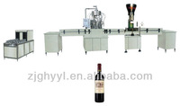 GFP Series production line of wine washing filling and sealing