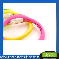 2010 hot sale sports silicone watch wristband