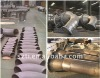 titanium pipe for paper pulp industry