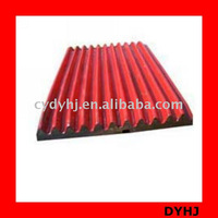jaw plate jaw crusher parts