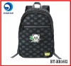 top quality black 600D bag school