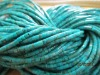 natural turquoise beads 3mm Heishi