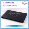 15.6inch laptop DVD driver for D2500 Windows7 laptop Dual Core Laptop