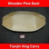 9 inch dimension wooden pine boat