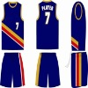 100% polyester dri fit basketball jersey/basketball uniform
