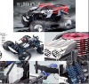 1:8 R/C off road nitro monster truck