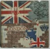Union jack antique wall hanging picture for bedroom