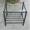 Discount Metal Frame With Glass Night Stand