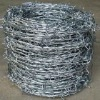 10kg galvanized and pvc coated barbed wire