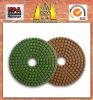 HuaZuan granite diamond polishing pad for dry&wet use