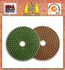 HuaZuan granite diamond polishing pad for dry&wet use