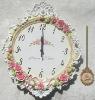 Resin decorative wall clock