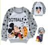 wholesale CVC/TC polar fleece children's printing round neck long sleeved sweatshirt